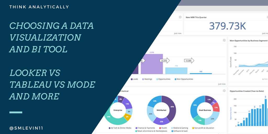 Looker vs Tableau vs Mode, etc  Business Intelligence and Data